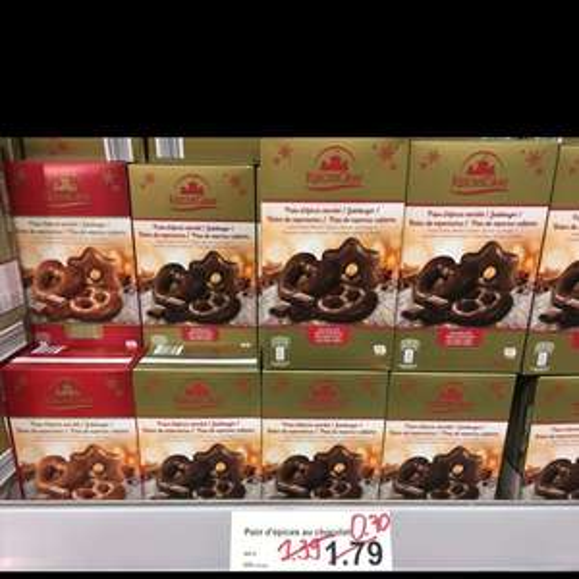 Pain d'épices au chocolat au lait ou chocolat noir - Ligny en Barrois (55)