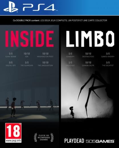 Pack Inside / Limbo sur PS4