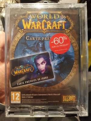 60 jours d'abonnement World of Warcraft - Paris (75)