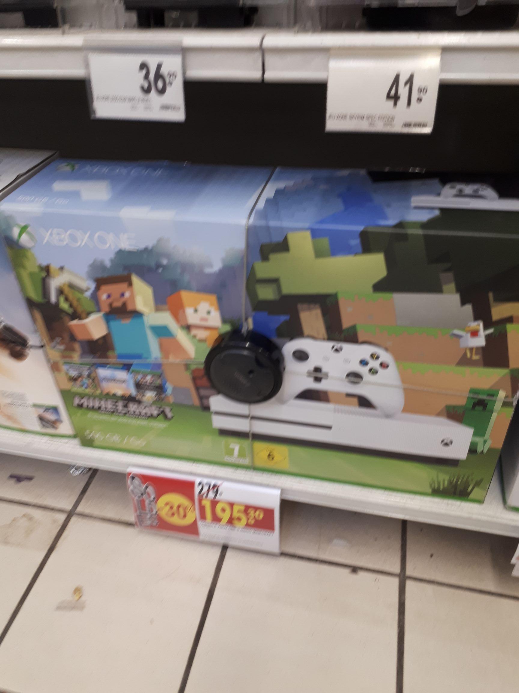 Console Xbox One S - 500 Go + Minecraft - Marseille (La Valentine) - 13
