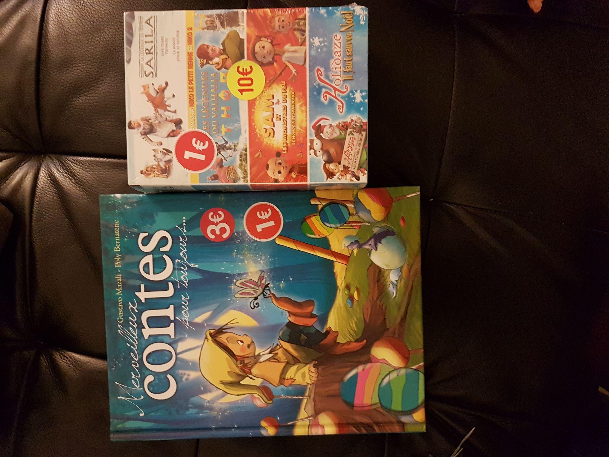 Sélection de coffrets DVD de Noël -  Ex : Sarila + Sam et les monstres de feu + Holidaze + Thor : Les légendes du Vahalla - Pontault Combault (77)