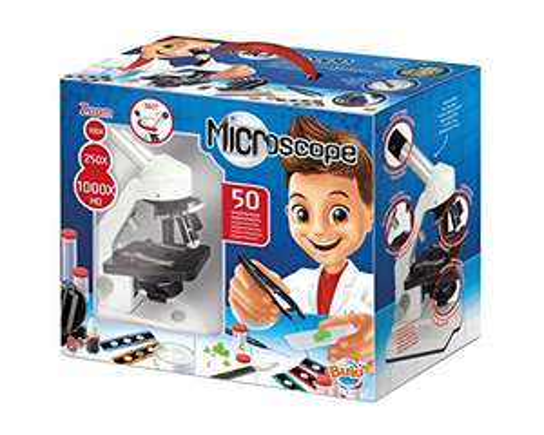 Microscope avec 50 expériences