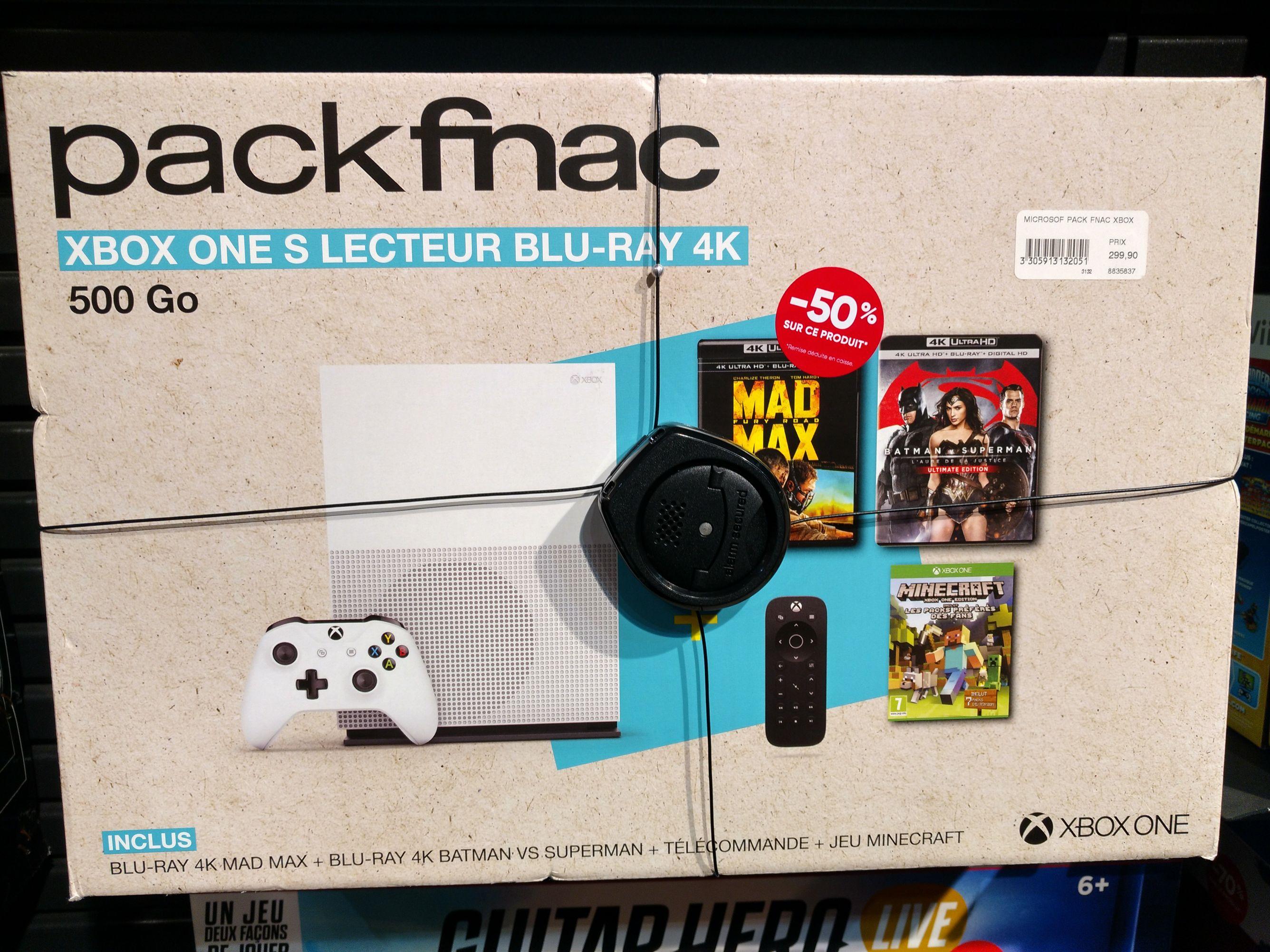 Pack Xbox one s 500go ( Fnac Avignon Centre )