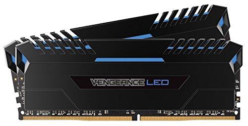 Corsair Vengeance LED Bleu - DDR4 - 16 Go (2x 8 Go) DDR4 3000 MHz CL15