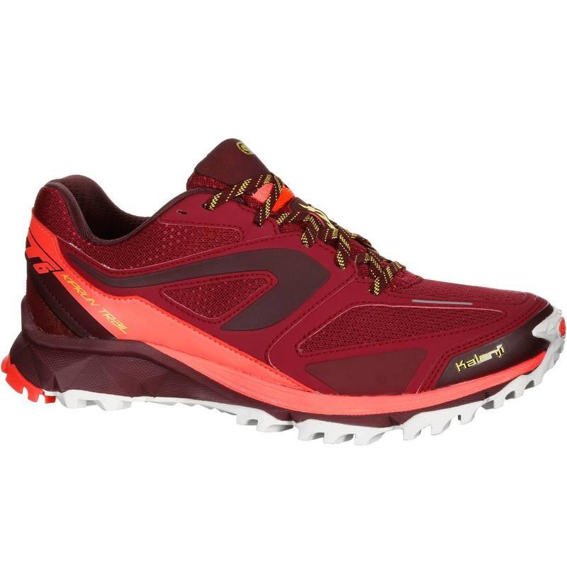 Chaussures de trail Kalenji Kiprun XT6 - bordeaux ou bleu (du 36 au 48)