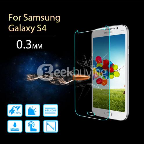 film protecteur en verre trempé pour Samsung galaxy S4