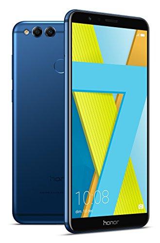 Smartphone 5.93 Honor 7X - Kirin 659, 4 Go de RAM, 64 Go, bleu
