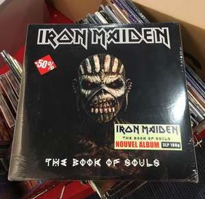 Sélection de vinyles à -50% - Ex : Iron Maiden : The Book Of Souls 3LP - La Rochelle (17)
