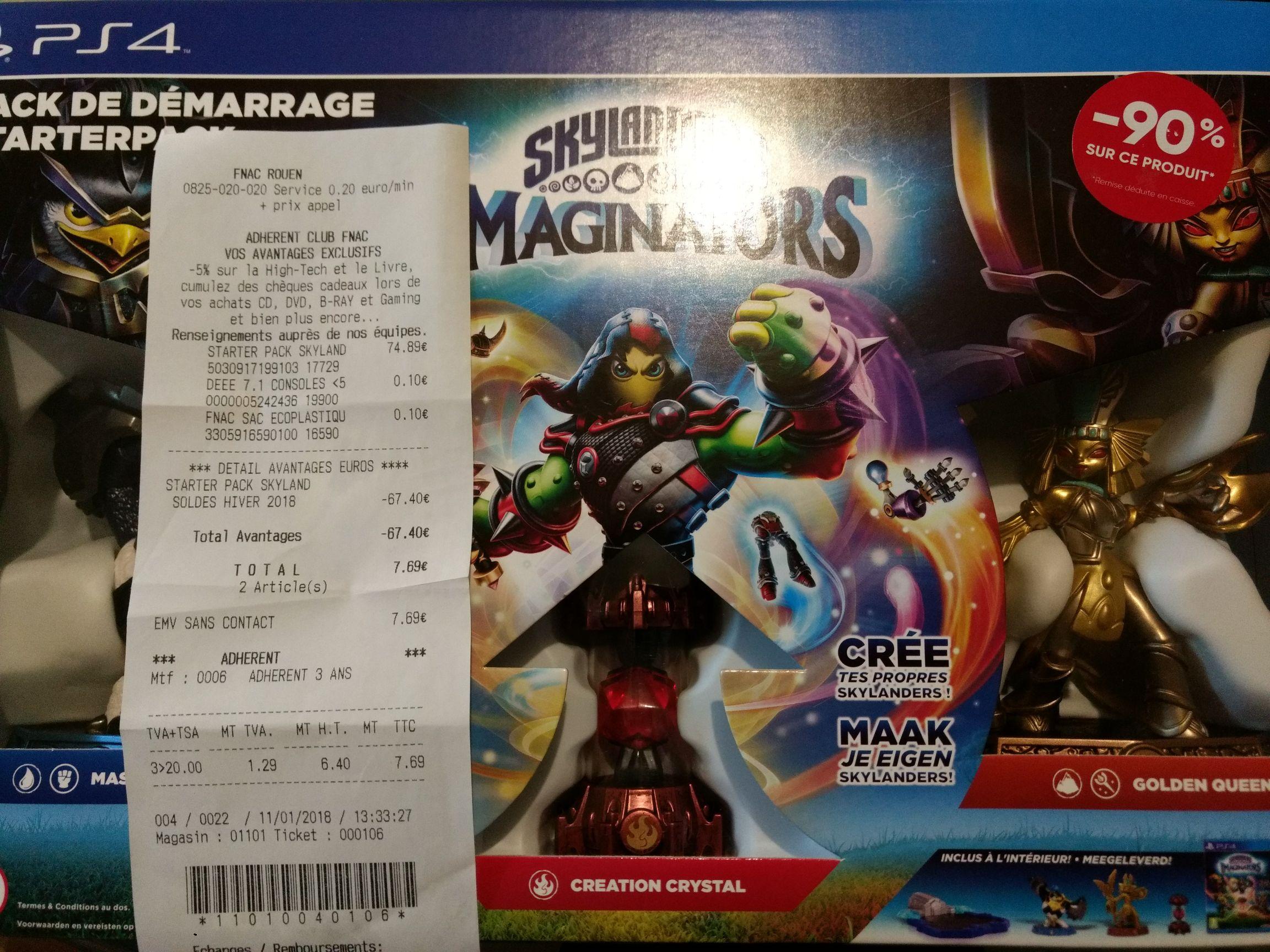 Pack de démarrage Skylanders Imaginators sur PS4 - Rouen (76)