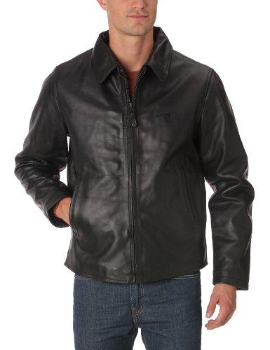 Veste en cuir Schott NYC LC5100 - noir (du S au XXL)