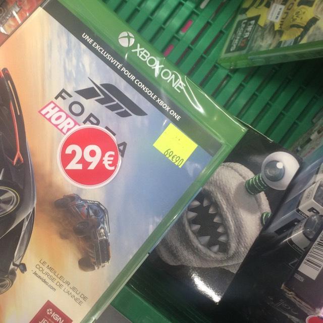 Sélection de consoles et jeux en réduction - Ex: Forza Horizon 3 (L'Haÿ-les-Roses - 94)