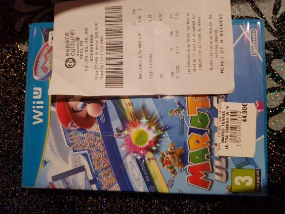 Mario Tennis Ultra Smash sur Wii U - Seclin (59)