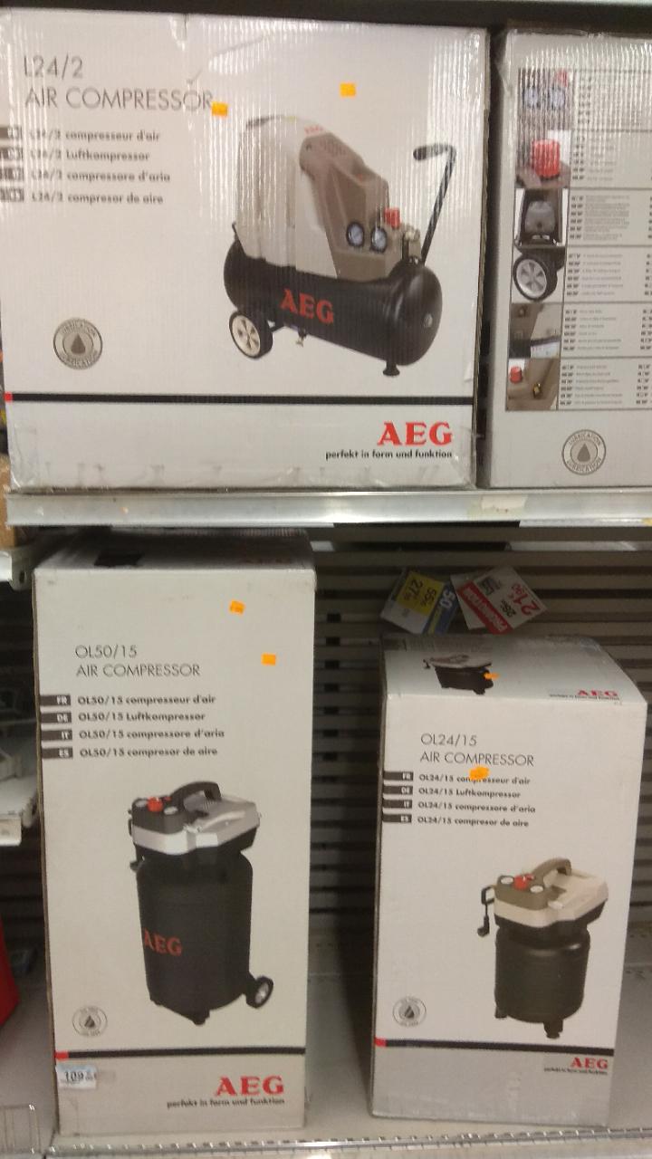 Compresseur loisir AEG L24/2 (24l, 2cv) - Echirolles (38)