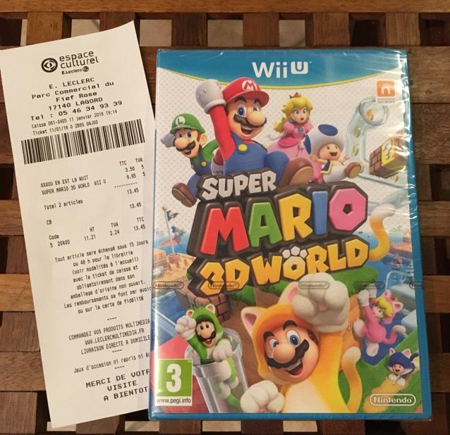 Sélection de jeux Wii U en promotion - Ex : Super Mario 3D World - La Rochelle (17)
