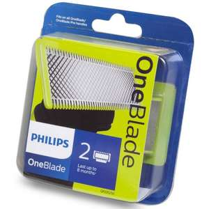 Pack 2 Lames Philips OneBlade