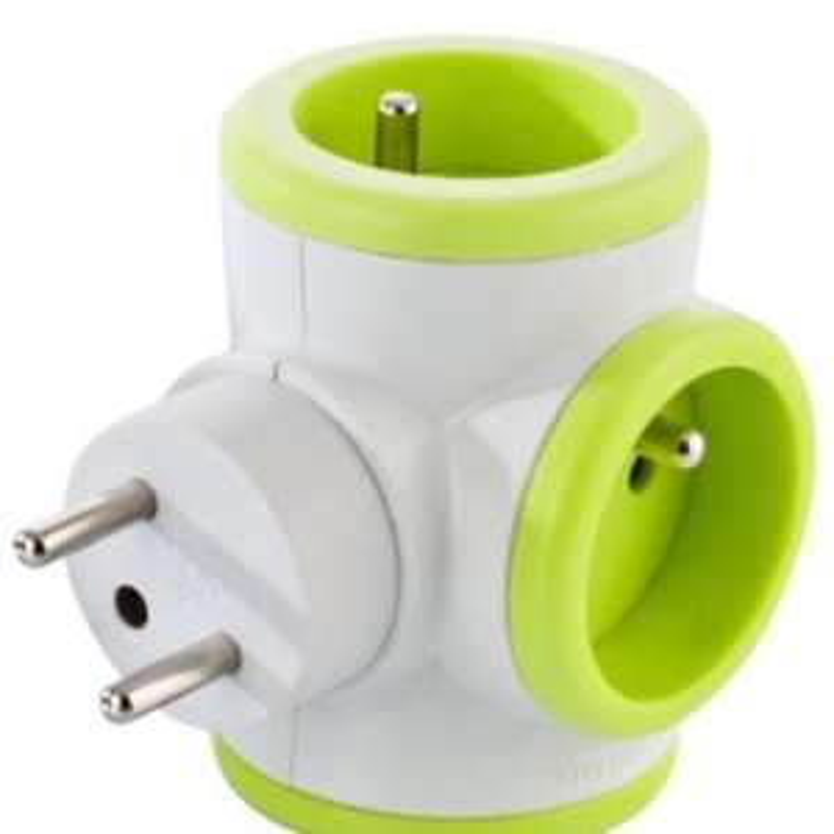Multiprise Watt and Co - Verte