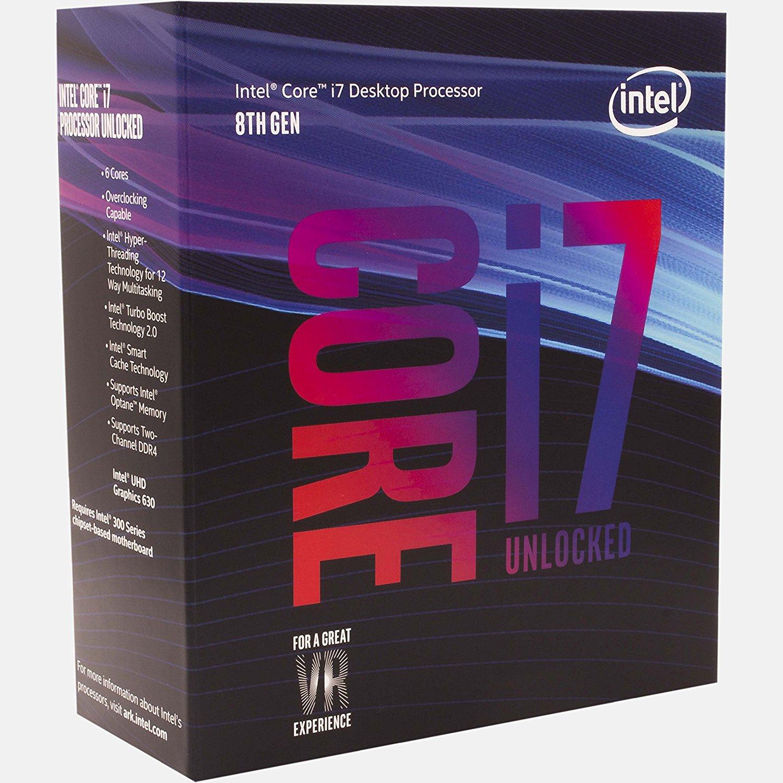 Processeur Intel Core i7-8700K (vendeur tiers)