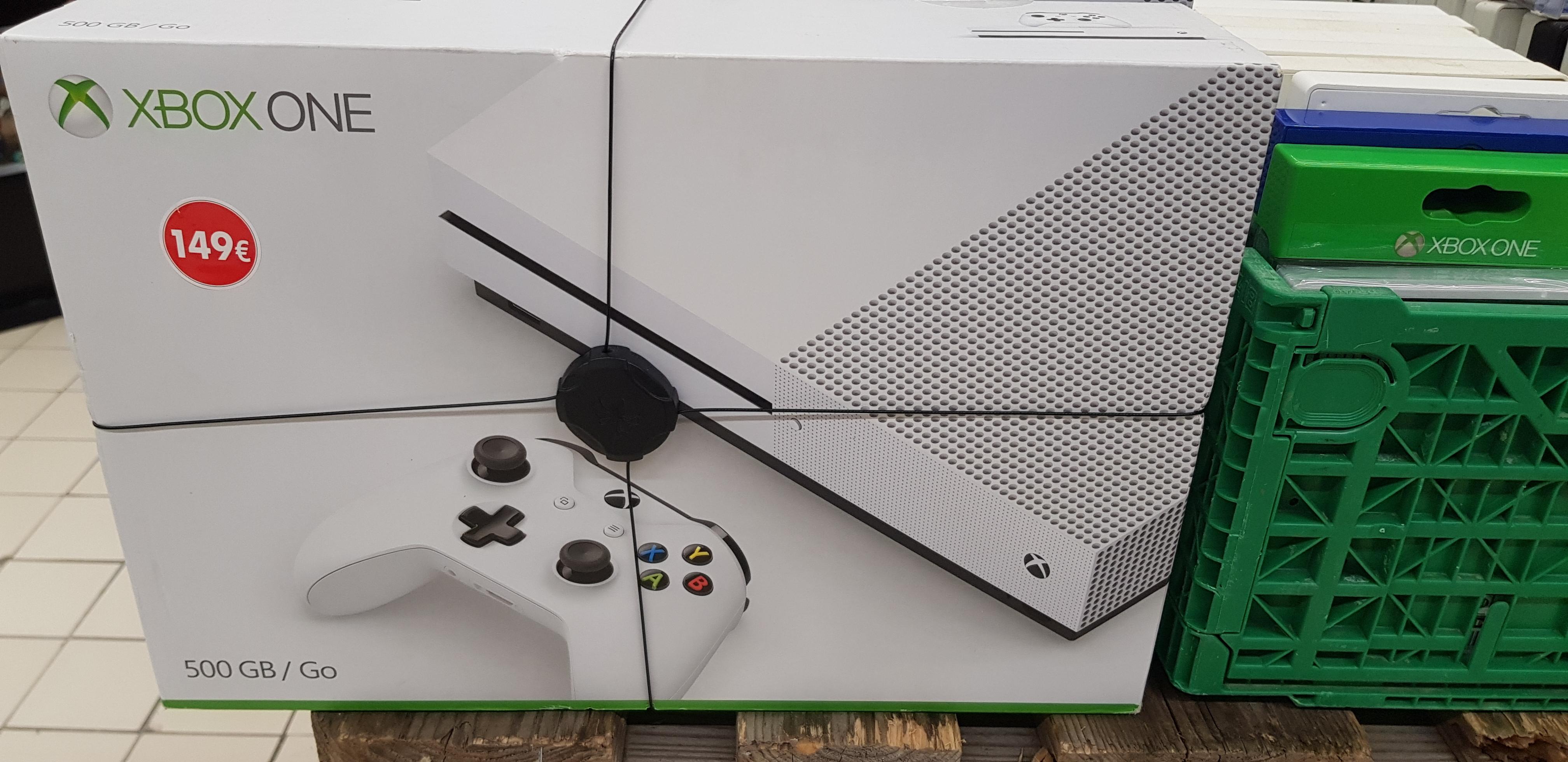 Console Microsoft Xbox One S - 500 Go - Aulnoy-Lez-Valenciennes et Denain (59)