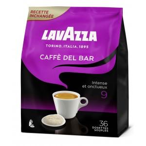 Lot de 36 dosettes souples de café Lavazza