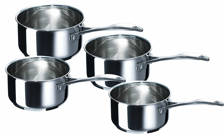 Série de 4 Casseroles Bekaline 12066984 Chef en acier Inoxydable - 14 à 20cm