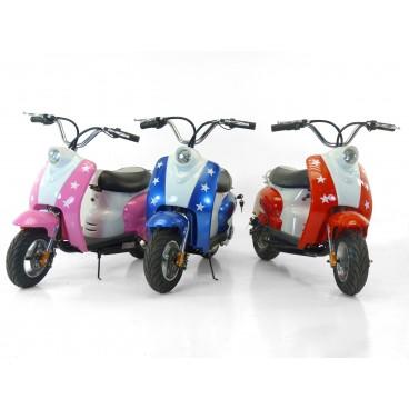 Mini Scooter Electrique pour Enfants (Coloris au choix) - Sans montage, ni mise en route (Scootcash.fr)