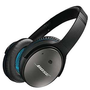 Casque à réduction de bruit Bose Quiet Comfort QC 25 Apple - Noir (Frontaliers Suisse)
