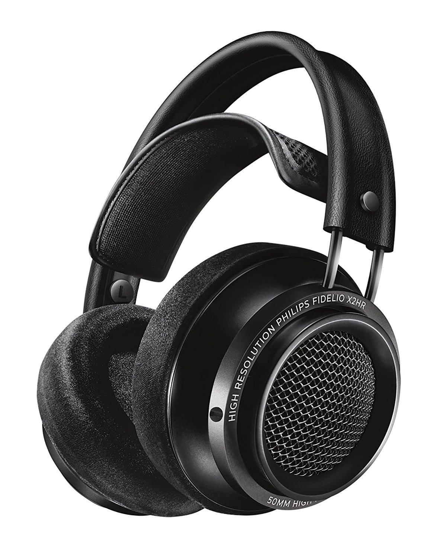 Casque Audio Filaire Haute Résolution Philips Fidelio X2 - Noir