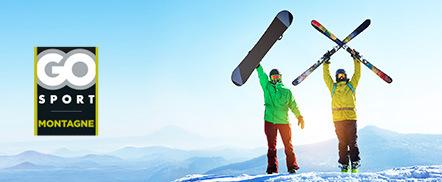 Location de matériel de Ski pour 6 jours à tarifs réduits sur 93 stations (Go Sport) - Val Thorens à partir de 35€