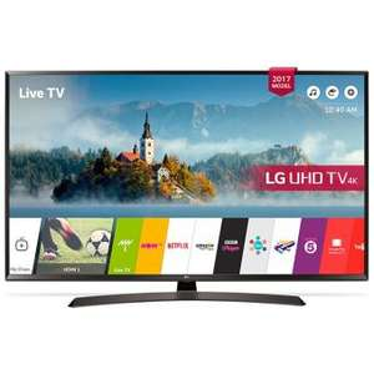"[Adhérents] TV 49"" LG 49UJ635V - 4K - 1600 Hz PMI - HDR - TV Connectée"