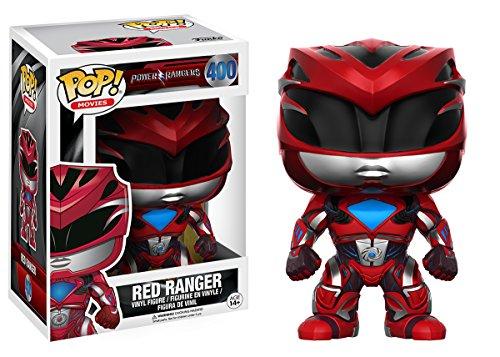 Sélection de Figurines POP Power Rangers Movie en promo - Ex : Red Ranger à
