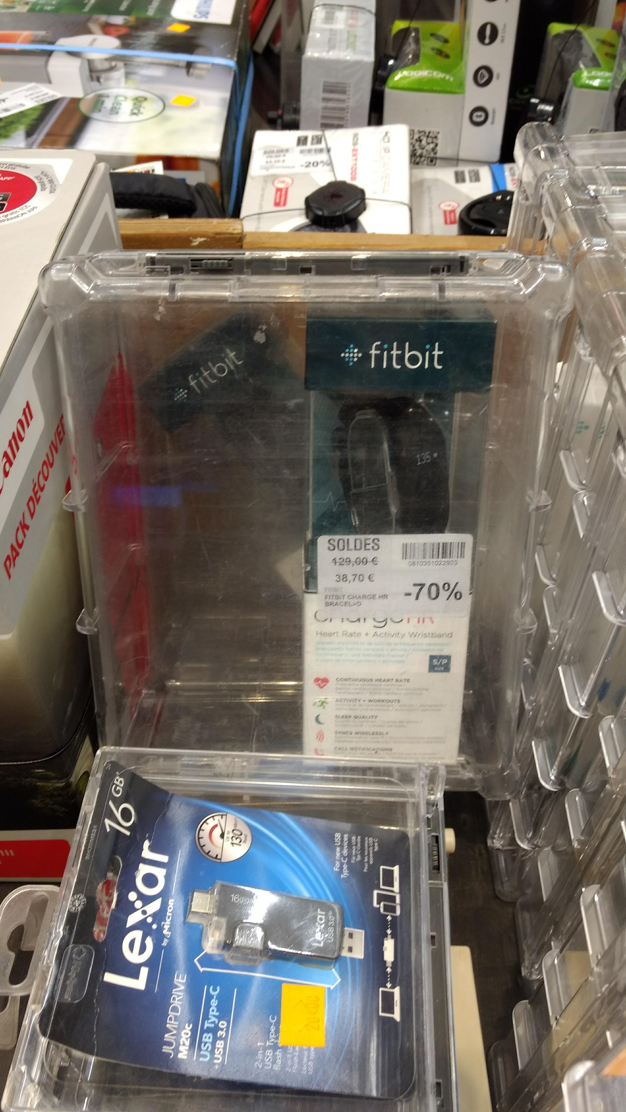 Sélection de Fitbit en promo - Exemple : Fitbit Flex 2 Carrefour Athis mons (91)