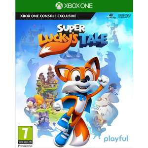 Super Lucky's Tale sur Xbox One