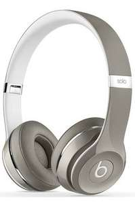 Casque Beats solo 2 luxe edition silver