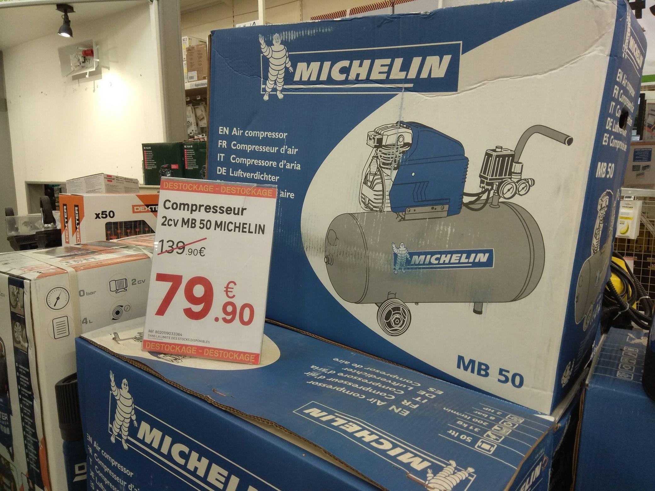 Compresseur 50 litres Michelin - Avignon (84)