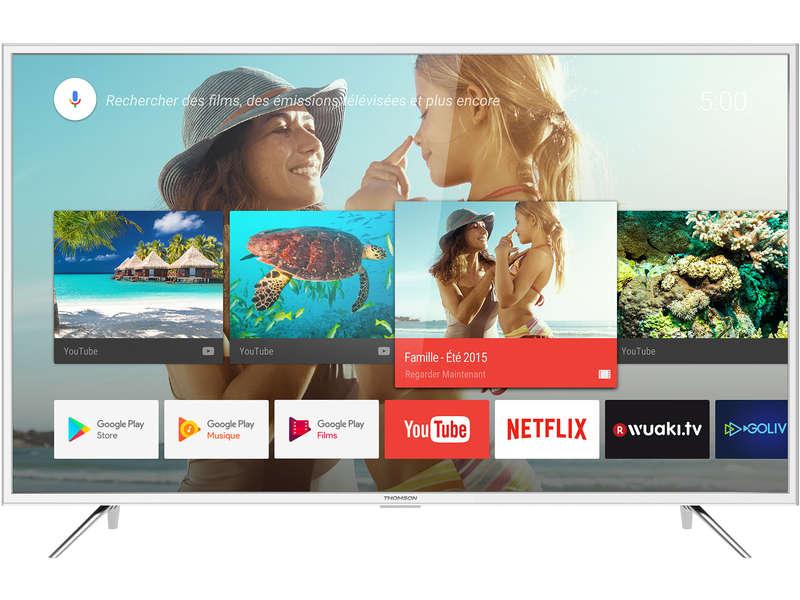 "TV 55"" Thomson 55UC6416W - UHD 4K, HDR10"