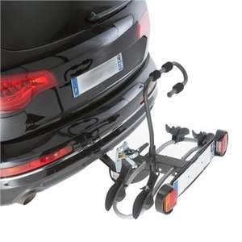Porte-vélos d'attelage plate-forme Mottez Premium pour 2 vélos