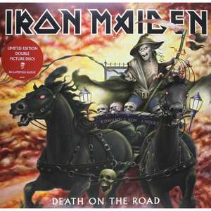 Iron Maiden Death on the road double vinyle picture disc