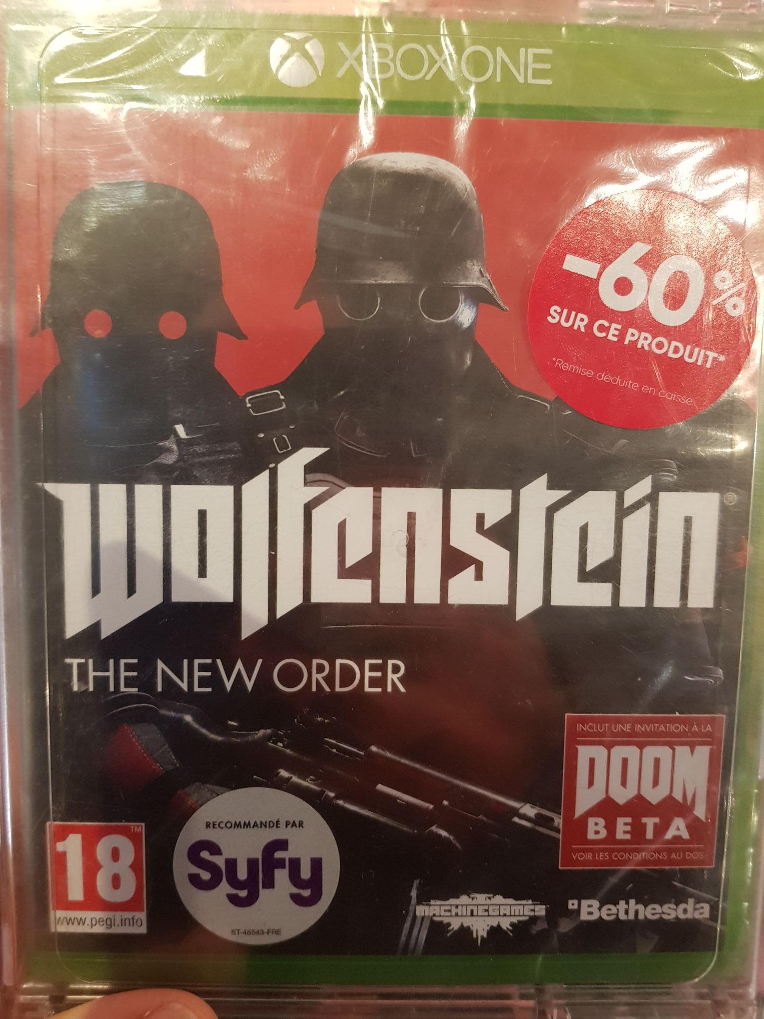 Wolfenstein The New Order sur Xbox One - Evry (91)