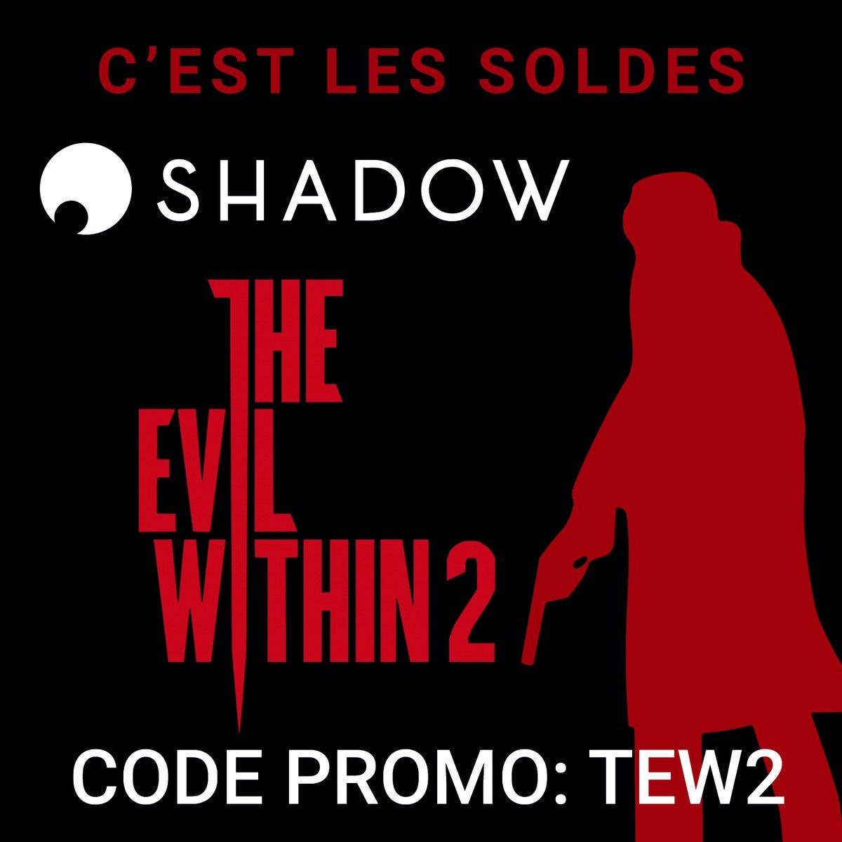 Pour toute souscription à un Abonnement à Shadow PC une copie de The Evil Within 2 offerte