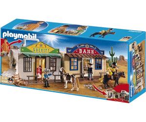 Jouet Playmobil Mon coffret de Cow-Boy transportable (4398)