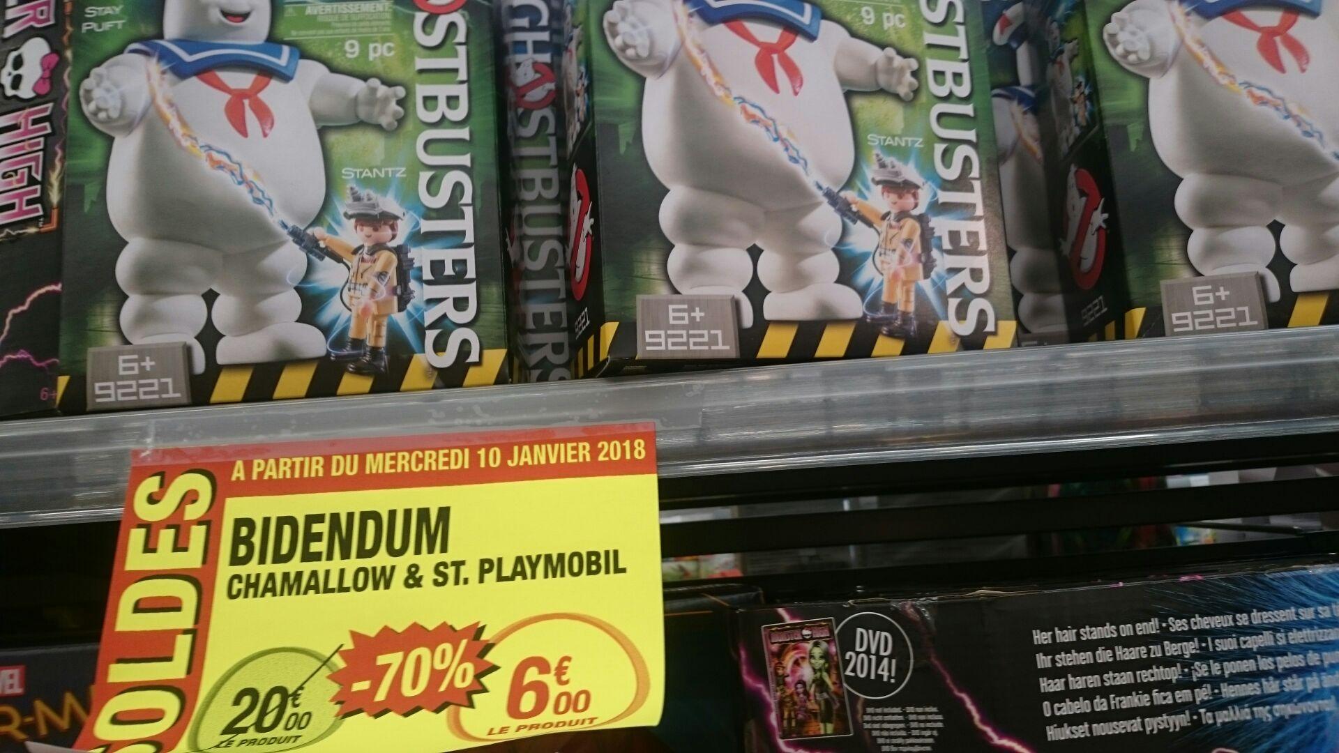 Sélection de jouets en en promotion - Ex : Playmobil Ghostbusters - Stay Puft Marshmallow Man (9221) au Hyper U Pertuis (84)