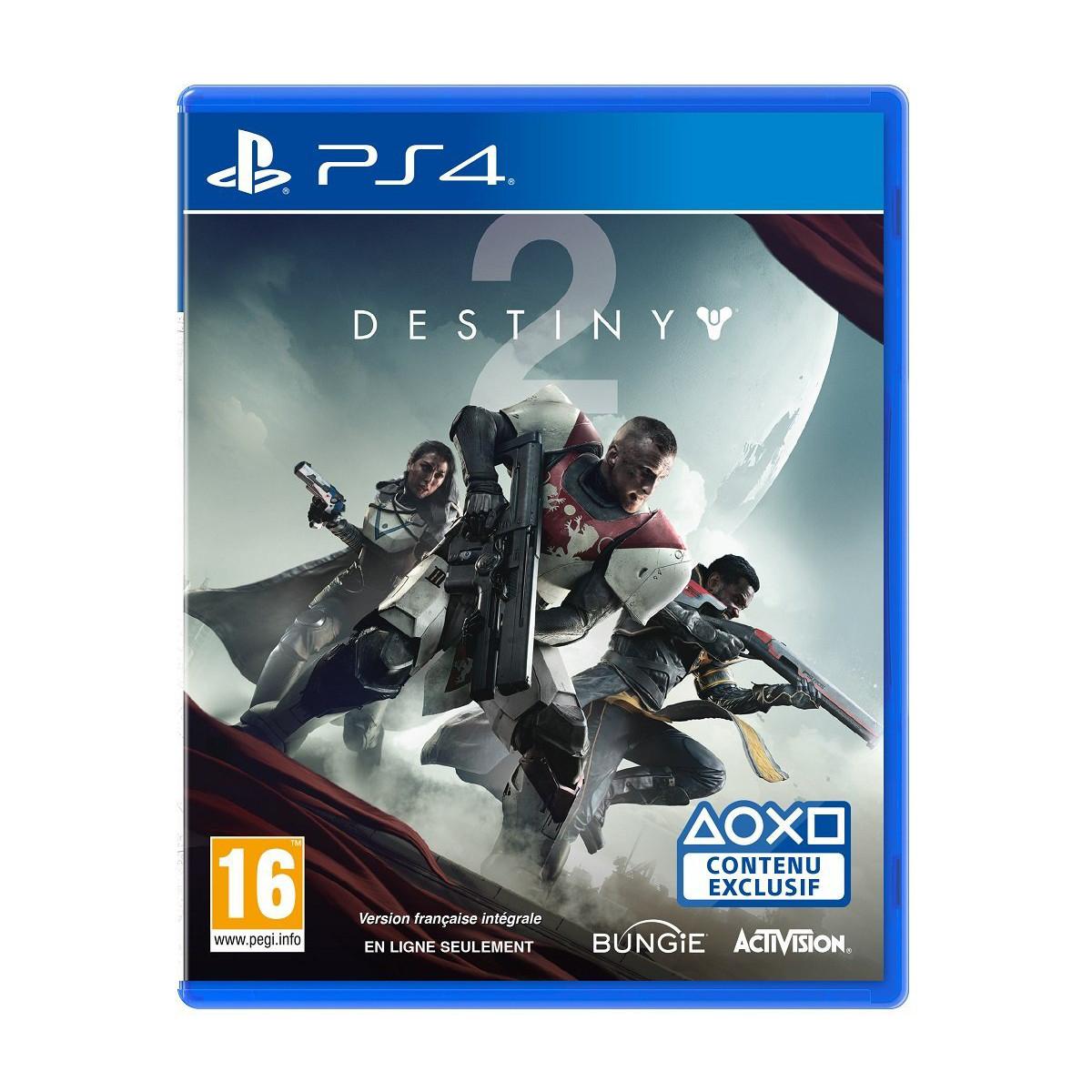 Destiny 2 sur PS4 et Xbox One