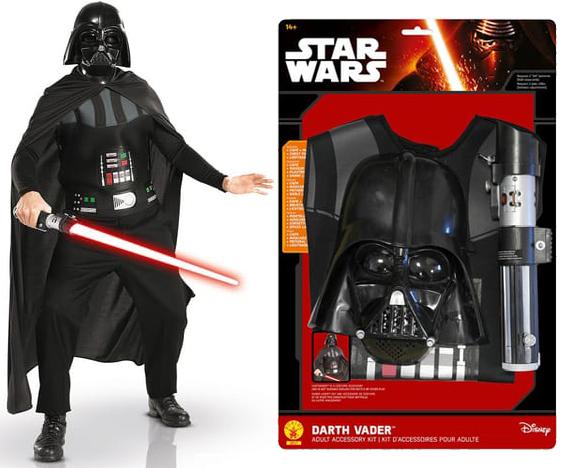Déguisement adulte Rubies Star Wars Dark Vador - avec sabre