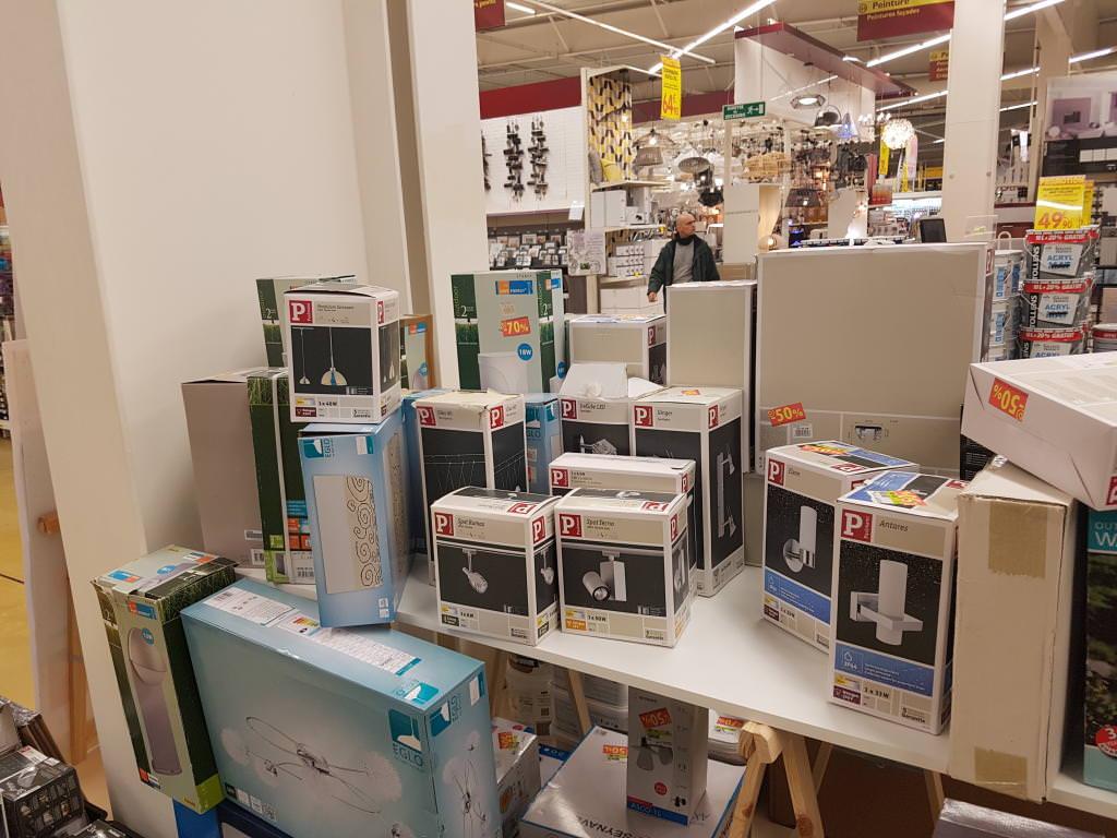 Sélection de Luminaires Paulmann en soldes - Ex : Luminaire paulmann ice cube 2 x3W led - Mr bricolage Rezé océane (44)