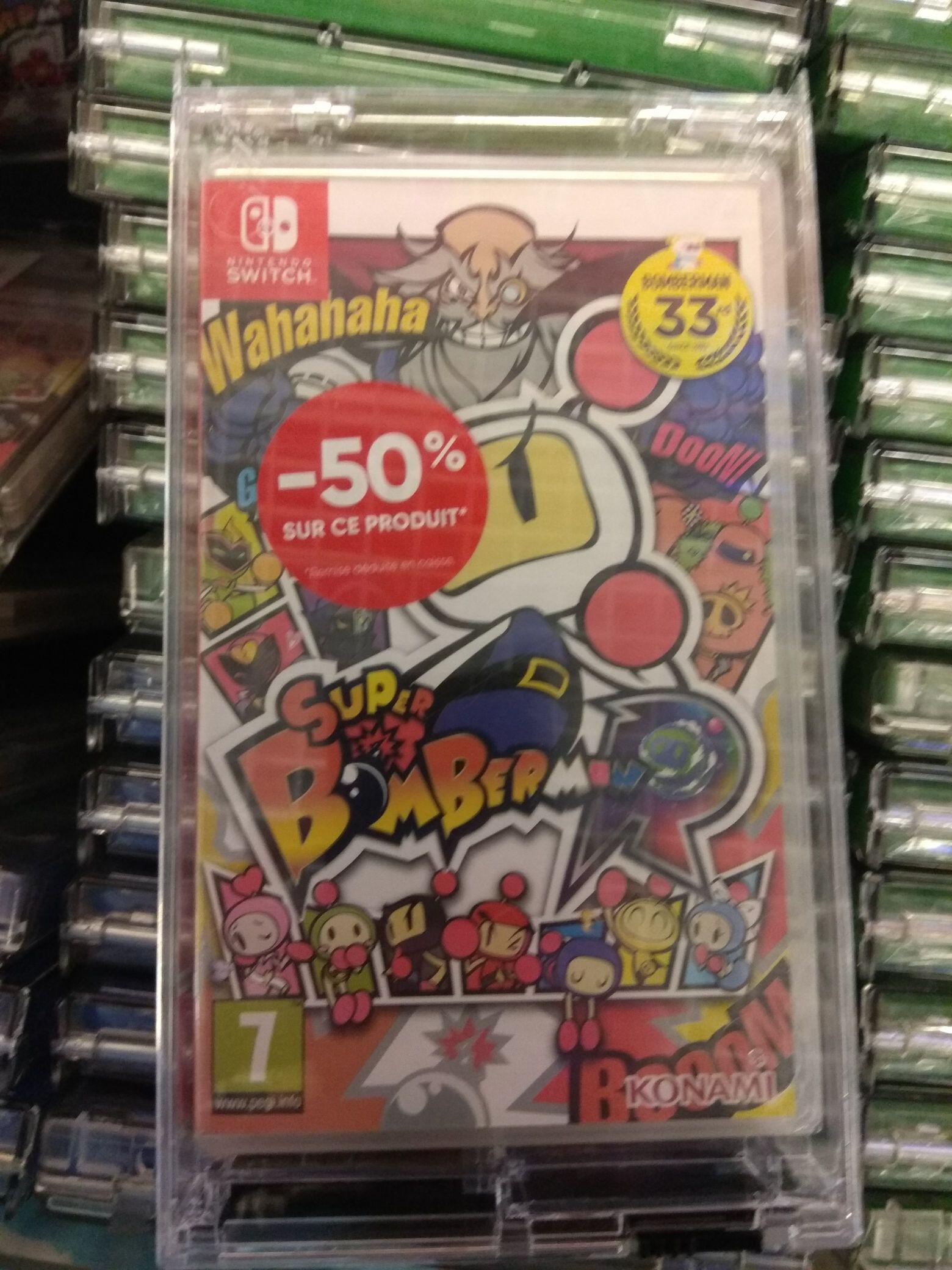 Sélection de Jeux Switch et PS4 à -50% - Ex : Bomberman sur Nintendo Switch - Bordeaux (33)