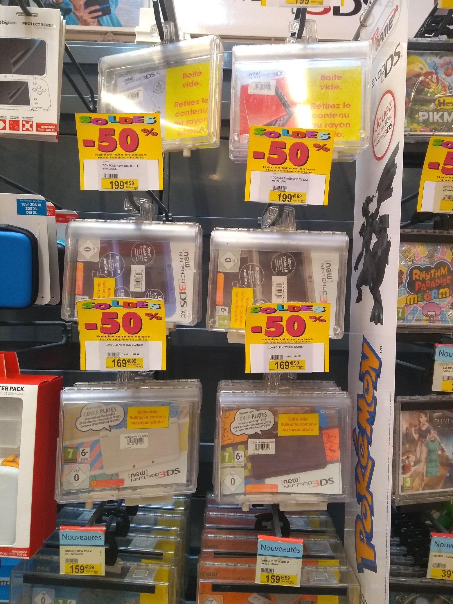 Console Nintendo new 3DS à 85€ et New 3DS XL à 100€ - Vesoul (70)