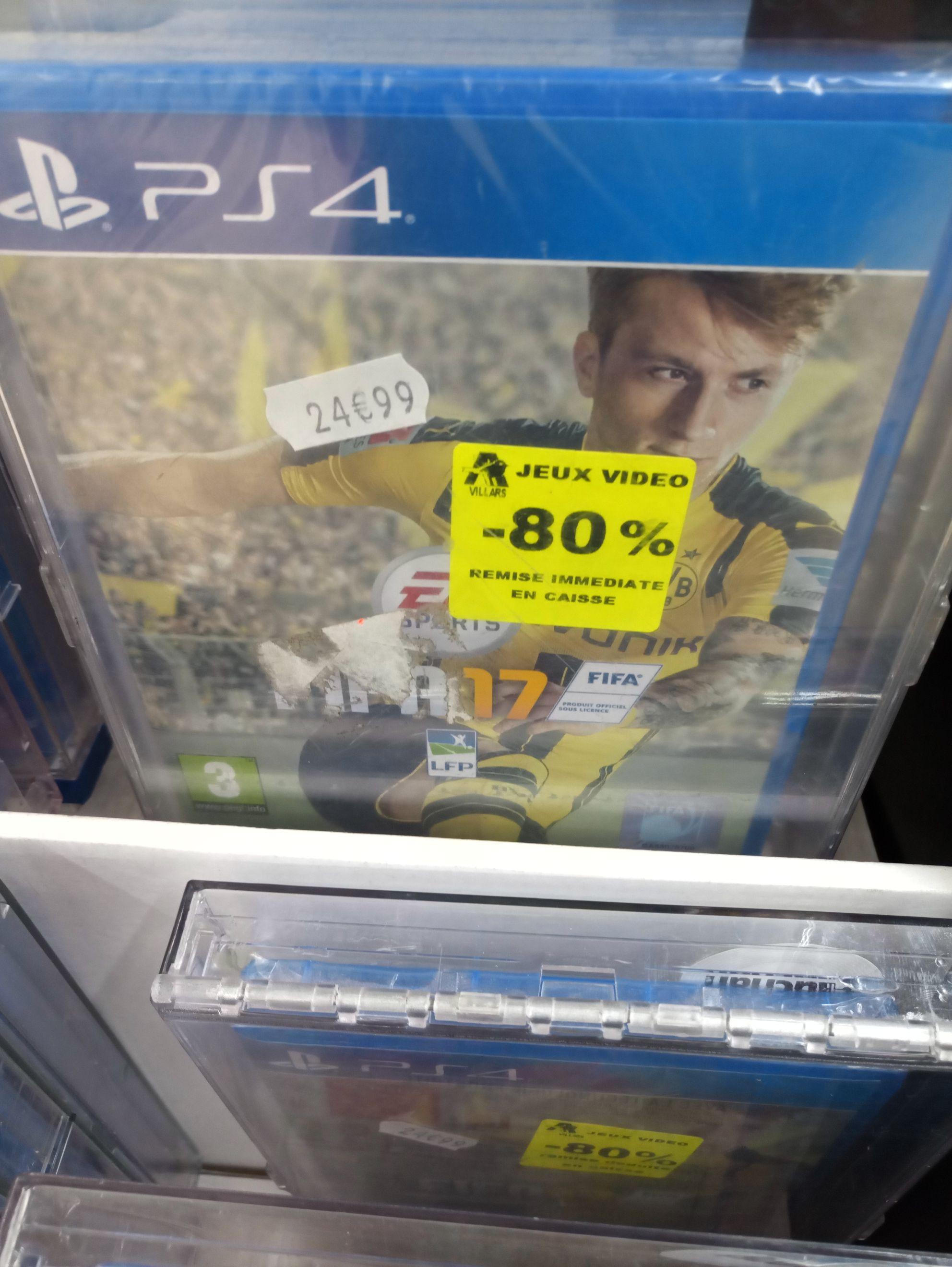 FIFA 17 sur PS4 - Villars (42)