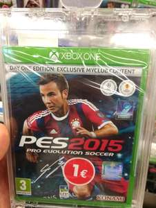 PES 2015 Édition Day One sur Xbox One - Bourg en Bresse (01)