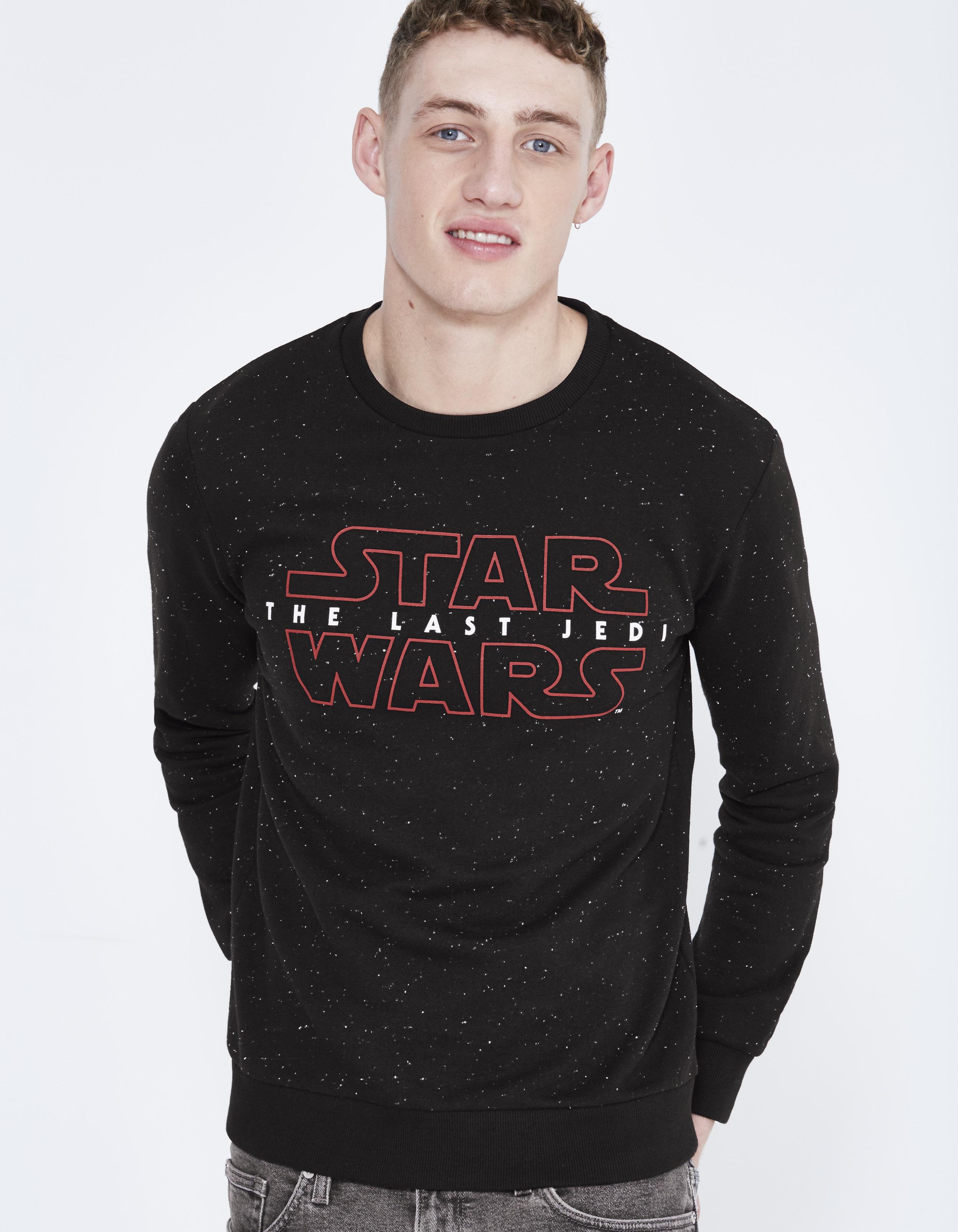 Sweat imprimé Star Wars en coton
