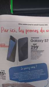 "Smartphone 5.1"" Samsung Galaxy S7 (Exynos 8890, 4 Go de RAM, 32 Go) - reconditionné au Auchan (frontaliers Luxembourg)"